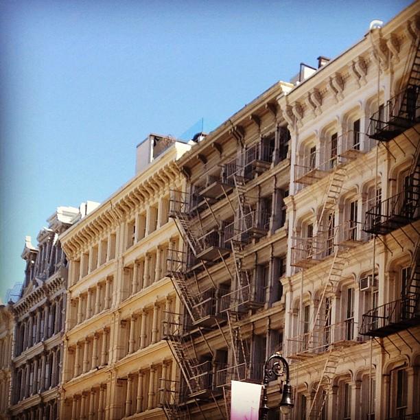 Cast iron district, #soho #nyc