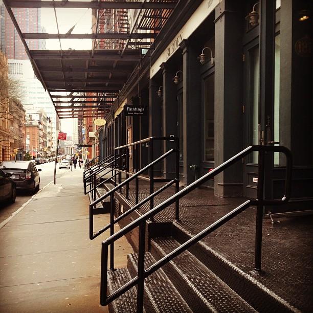 #tribeca loading bays #nyc