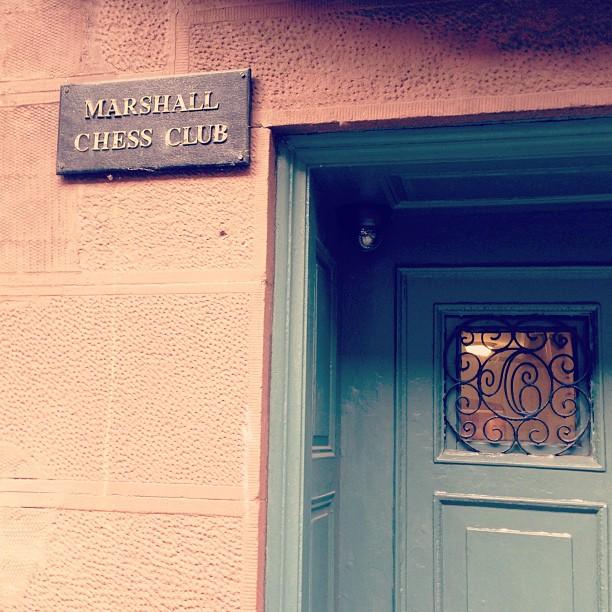 Bobby Fischer's chess club, still active on West 10th #greenwichvillage #nyc