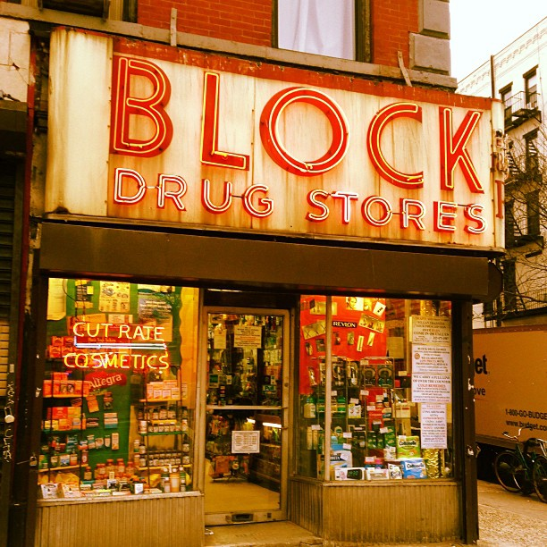 Block drug #eastvillage #nyc