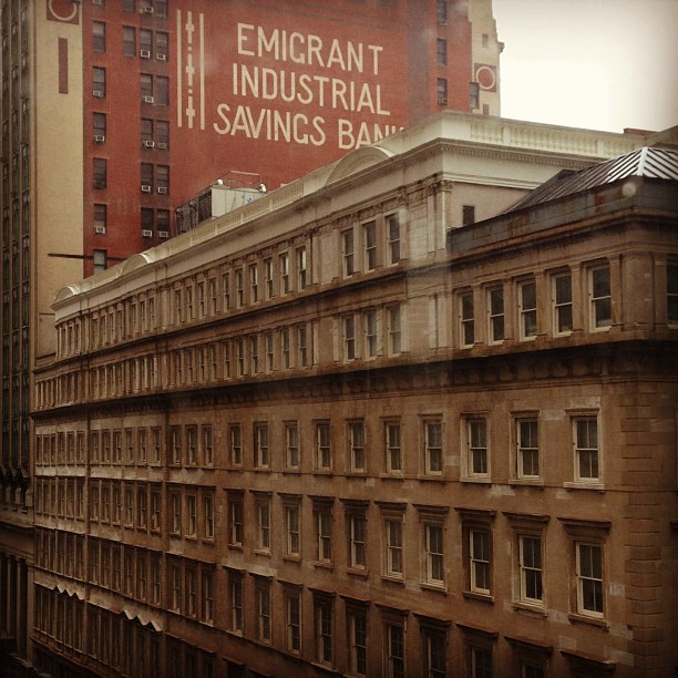 Emigrant Industrial Savings Bank #downtown #nyc
