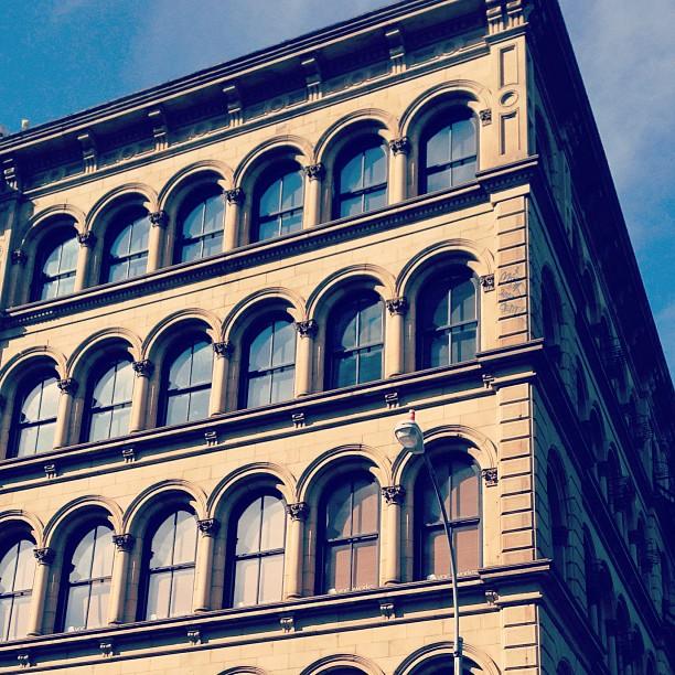 Cast iron facade #soho #nyc