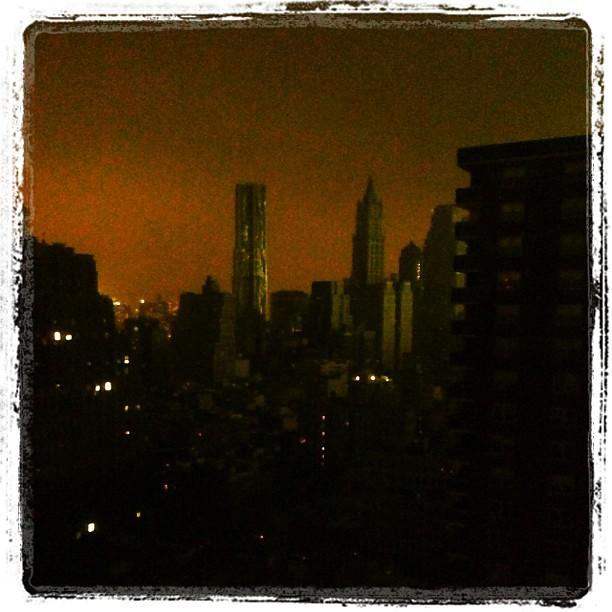 Lights out manhattan.