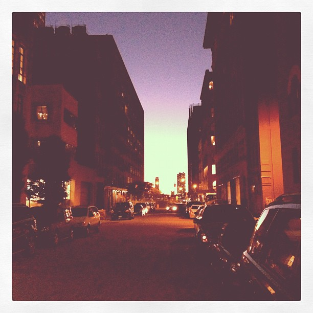 TriBeCa twilight