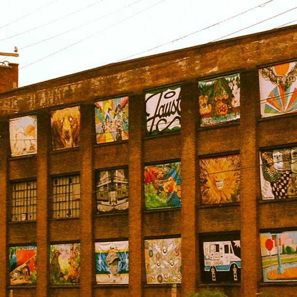 Artsy warehouse in Beacon NY (Taken with  Instagram )