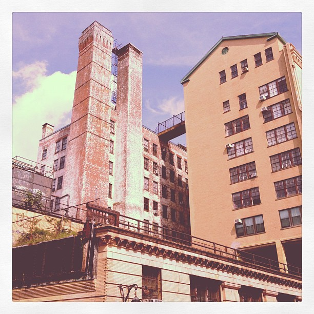 The old high line terminus  (Taken with  Instagram )