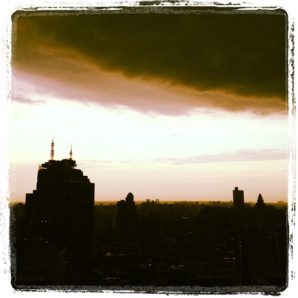 Storms II #nyc  (Taken with  Instagram )