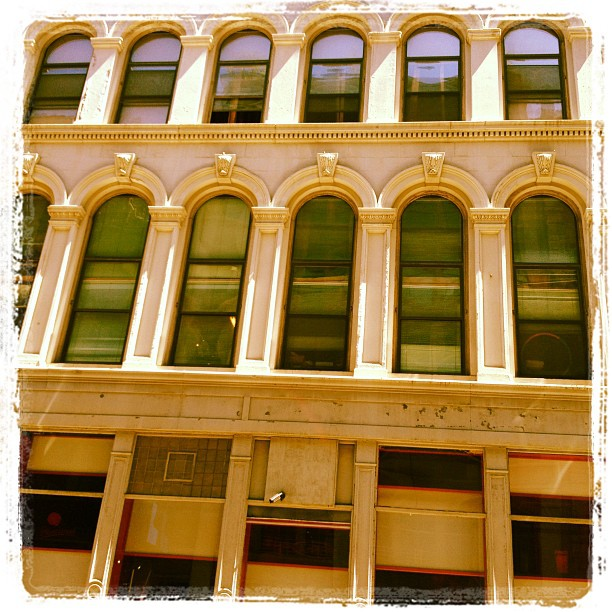 Walker Street lofts #tribeca #nyc  (Taken with  Instagram )