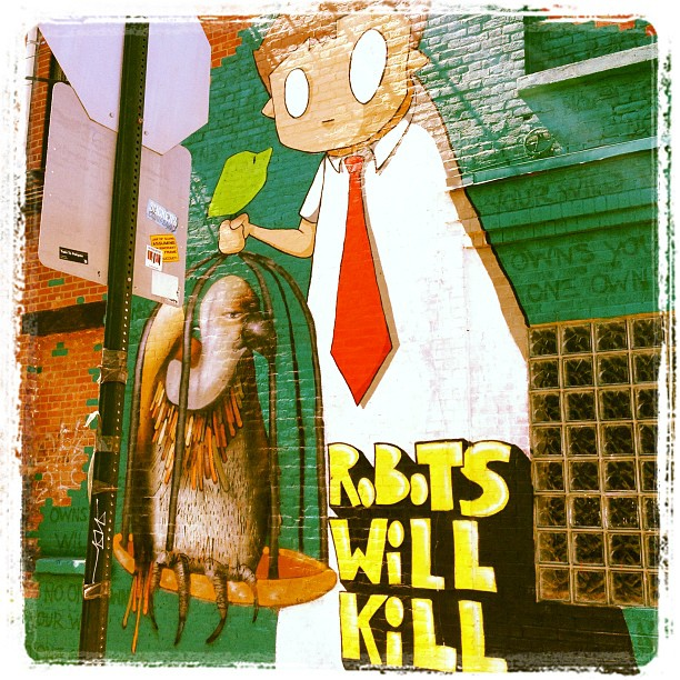 Street art in Williamsburg (Taken with  Instagram )