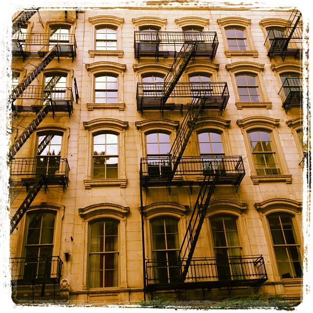 Stone lofts on Warren Street (Taken with  instagram )