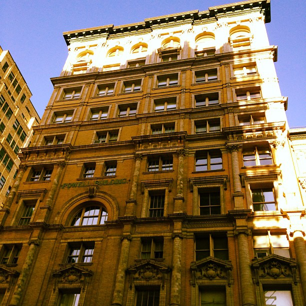 Powell Building on Hudson and Franklin (Taken with  instagram )