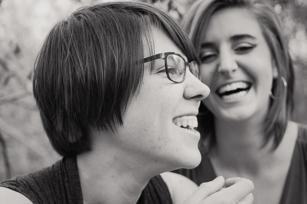 Me and my friend from high school on one of her shoots.