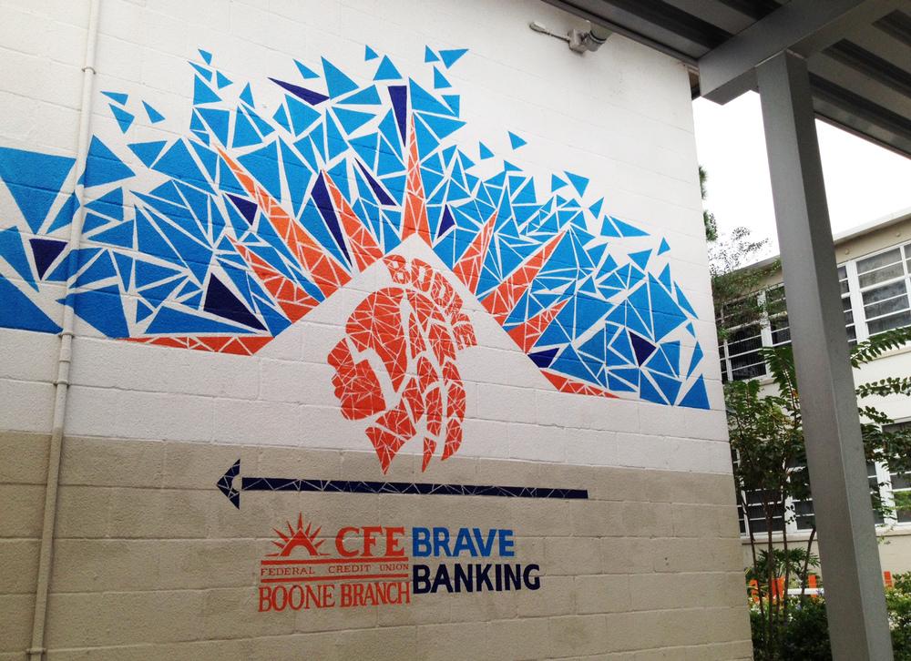 Final Boone Mural