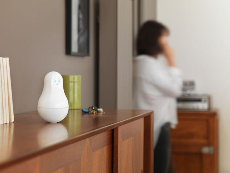 Mother, from Sen.se, comes with four sensors that can be programmed and attached around the house to monitor activity. (  Sen.se)