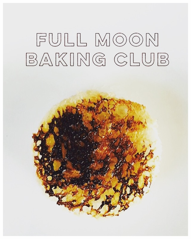 #FullMoonBakingClub