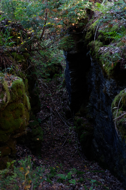 Yes, we found our way out by walking deeper through a crevice.