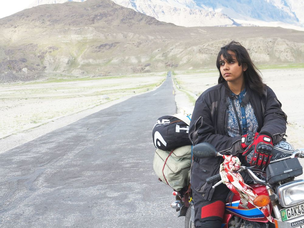 Visit Zenith Irfan's Facebook page, 1 Girl 2 Wheels.