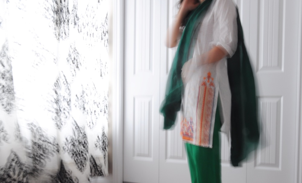 On August 14th, Pakistanis everywhere celebrate Pakistan's Independence Day — it's green and white flag adorns street corners in Pakistan and people across the world dress in the flag's contrasting colours.