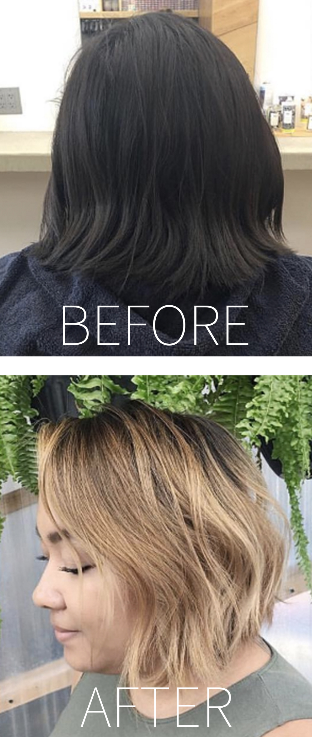 I've been getting a ton of questions about taking my hair from brunette to blonde. If you have virgin brunette hair and you're thinking about going lighter, here are 4 tips I used before going on my hair journey. Photos by @maxine_hmb. Click to read more!