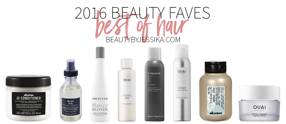 The year is almost over and i've gathered the best hair products of 2016 and am sharing it with you on my blog, beautybyjessika.com.