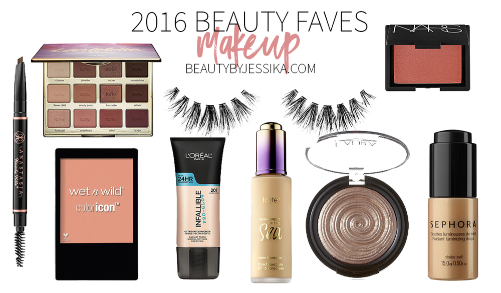 The year is almost over and i've gathered the best makeup products of 2016 and am sharing it with you on my blog, beautybyjessika.com.