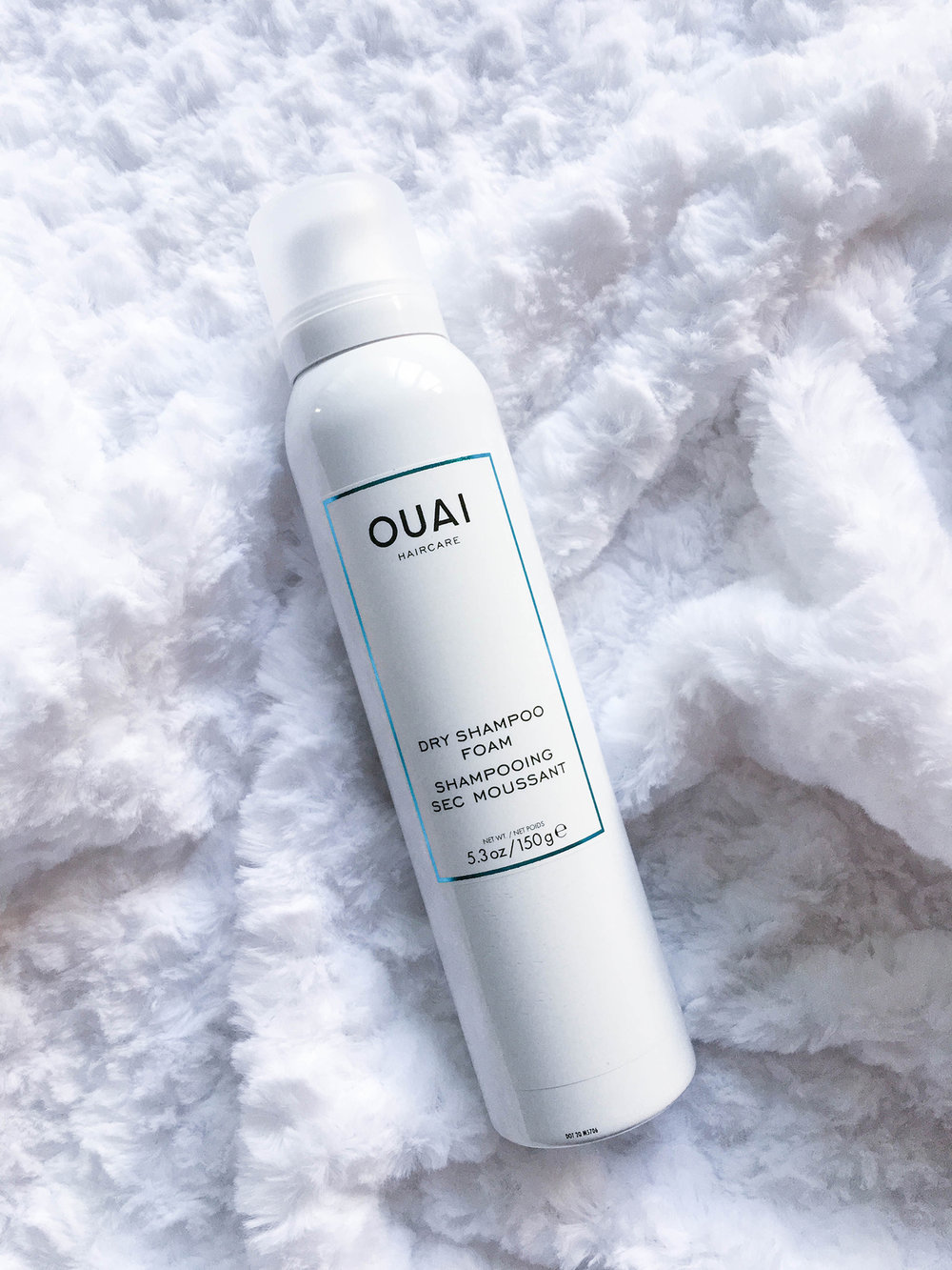 Ouai's new Dry Shampoo Foam is a fun way to revive dirty hair. See the first impression on beautybyjessika.com.
