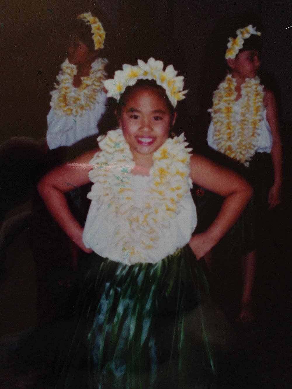My passion for all things beauty started as a young hula dancer. Here's me at age 7 at a hula performance. Learn more about me and my passion for makeup, hair and skincare on my beautyblog, beautybyjessika.com.