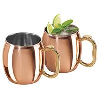 Moscow Mule Copper Mug Set — $24.99. Shop my holiday gift picks at beautybyjessika.com.