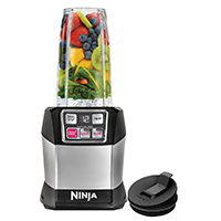 Nutri Ninja Auto IQ Pro Complete Personal Blender — $89.99. Shop my holiday gift picks at beautybyjessika.com.