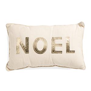 Noel Throw Pillow - TJ Maxx