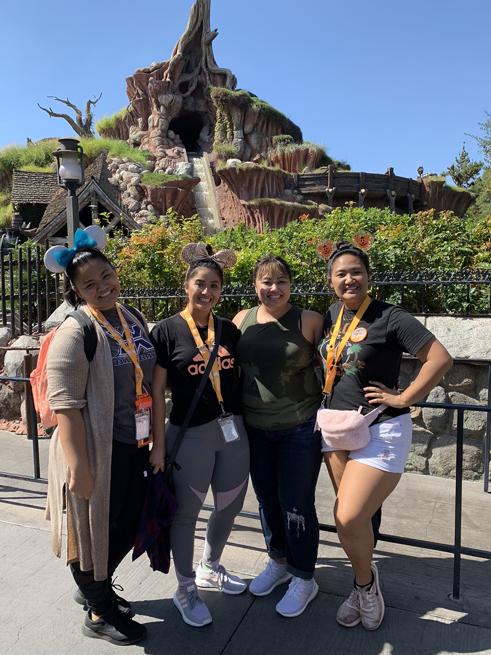 10/09/18 — After Splash Mountain. You can't see it but my jeans are soaking wet!