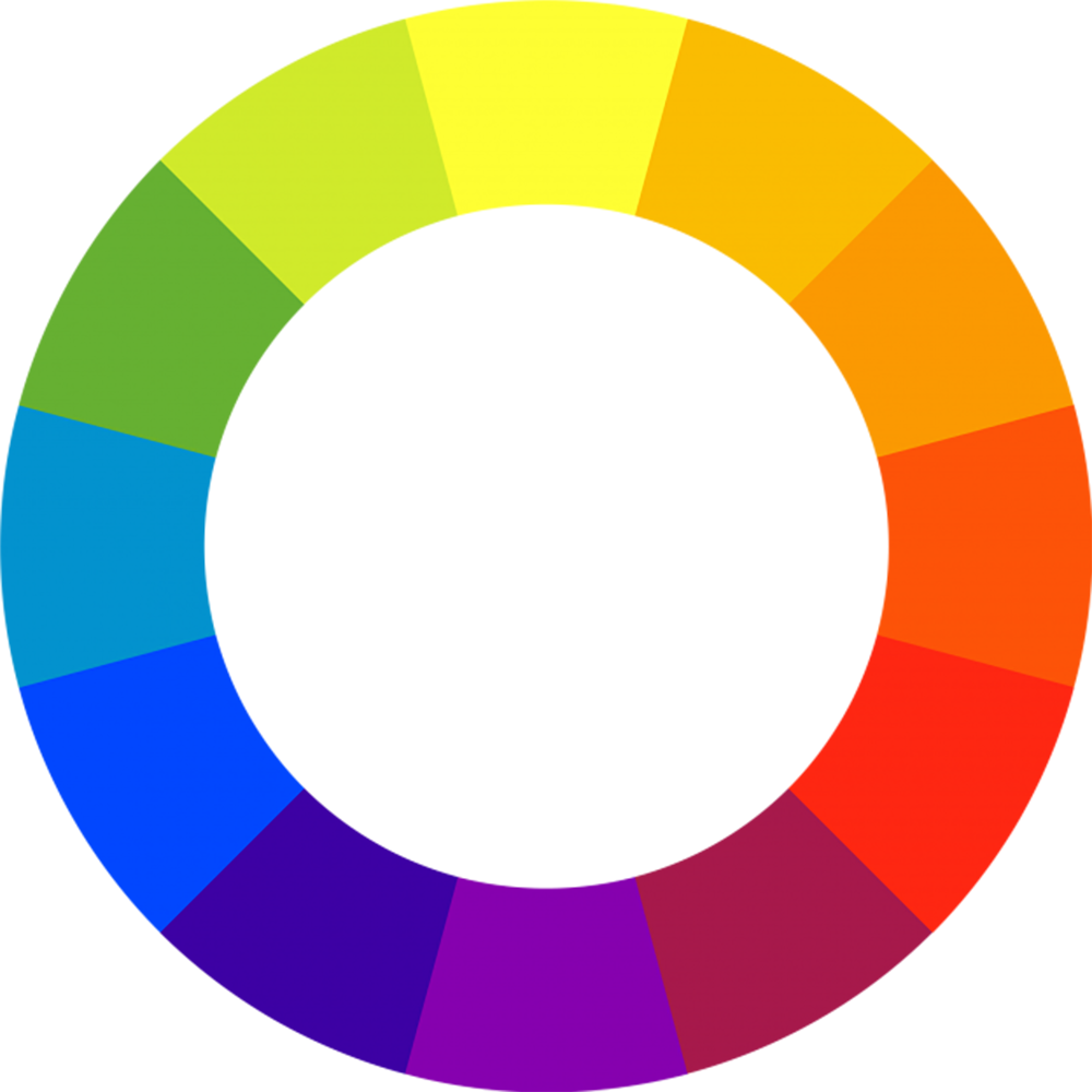 Use complementary colors on the color wheel to help you determine the toner color you should use based on the hair color you are trying to achieve. Graphic via  Mgxcopy.com .