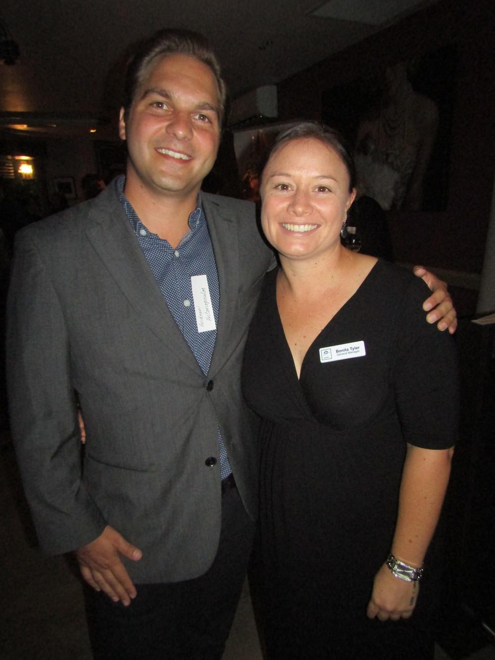 Andrew Antonopolous and Bonita Tyler.JPG