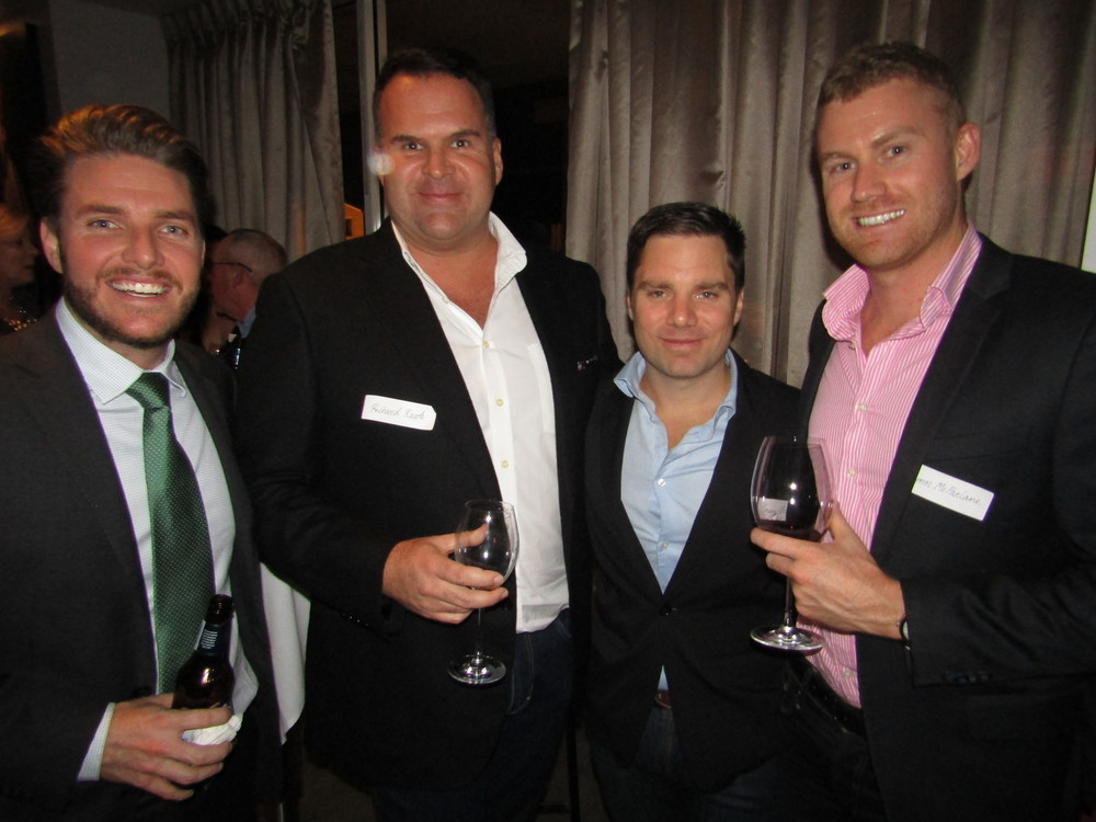 Todd Matheson, Richard Rawle, Sean Braybrook and Flynn McFarland.JPG