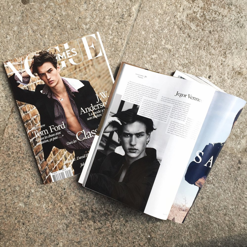 Vogue Hommes International Issue 24