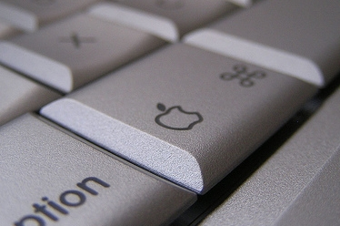 Apple & Clover on a key. Photo by David King on  flickr .