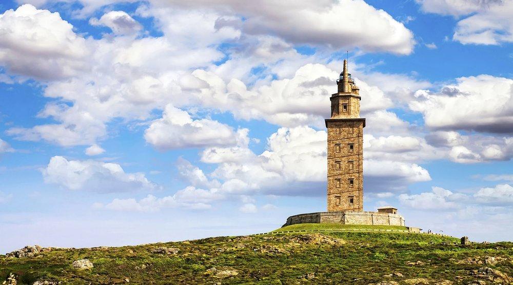 Torre de Hercules, La Coruña