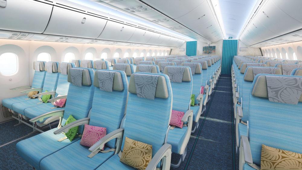 The New Air Tahiti Nui B787 Economy