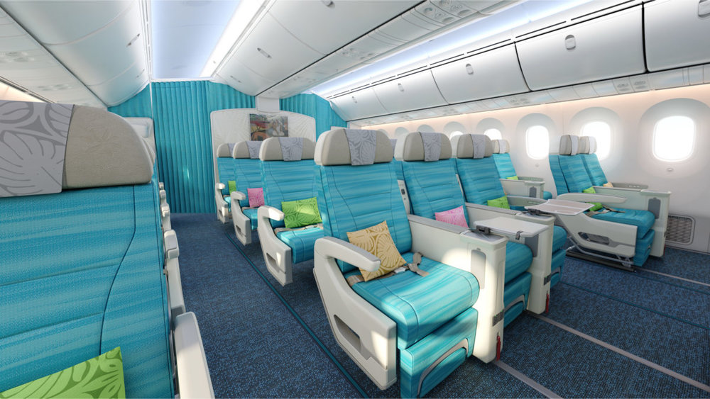 The New Air Tahiti Nui B787 Premium Economy