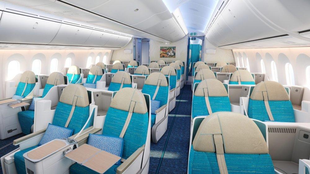 The New Air Tahiti Nui B787 Business Class