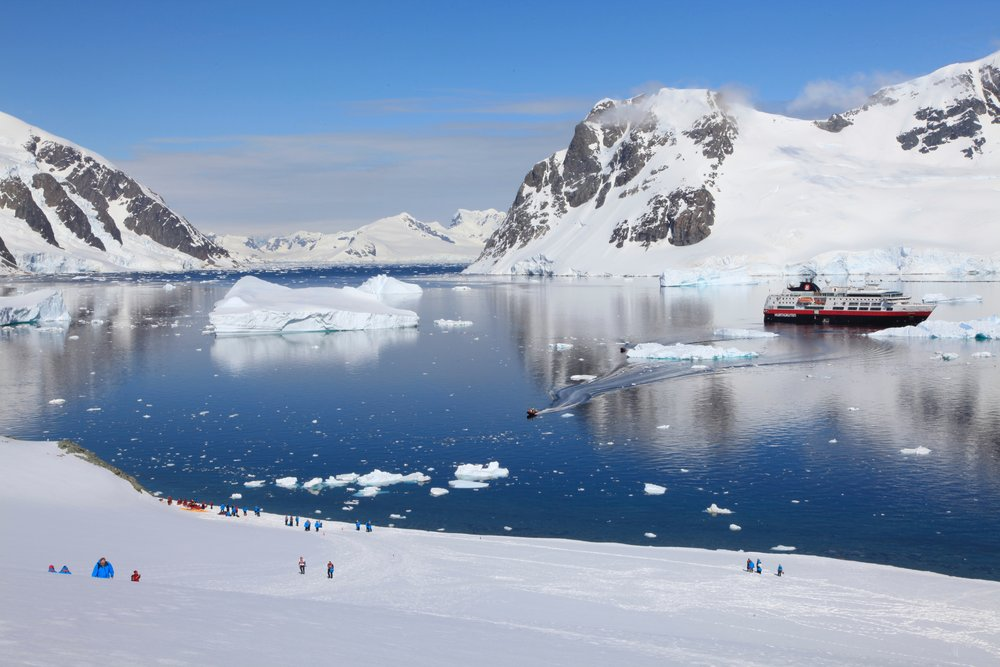 Clare Coulsen - MS Fram in Antarctica