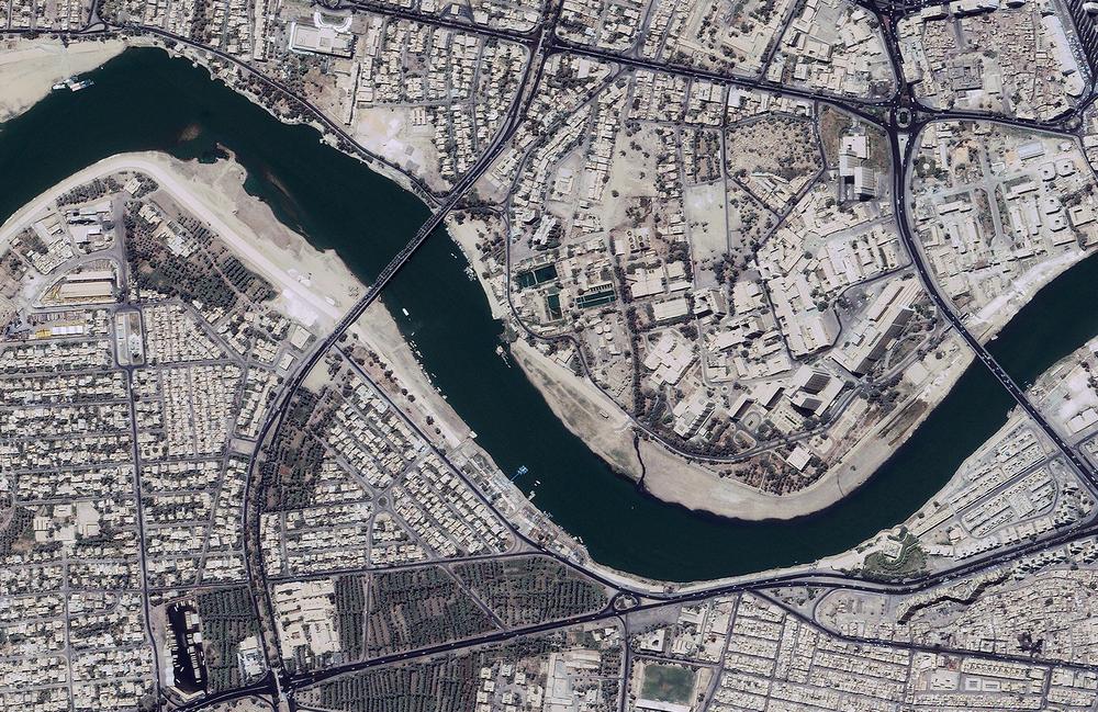 Detail of Baghdad.