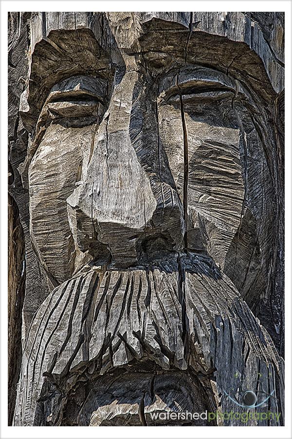 Summerhill Winery Wood Carving, Kelowna BC