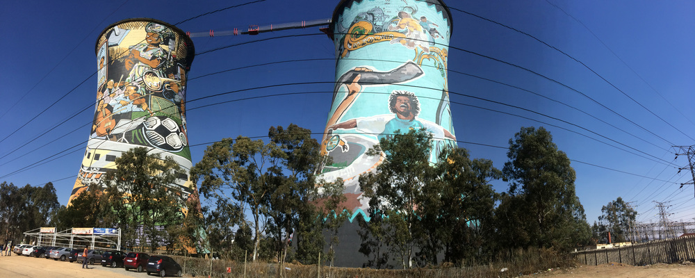 End stop of the city, bush & beach trip: Soweto. The Orlando Towers in picture are one of the famous landmarks of Johannesburg. People interested in history, there are several interesting places worth visiting in Soweto. Nowadays there are several community-based service providers offering tours and accommodation in Soweto, which is one of the biggest townships of South Africa and used to be the main stage for the anti-apartheid struggle. Also remember the apartheid museum! Photo ©Lauri Soini