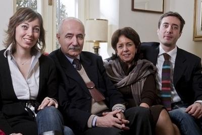 Mascini's family