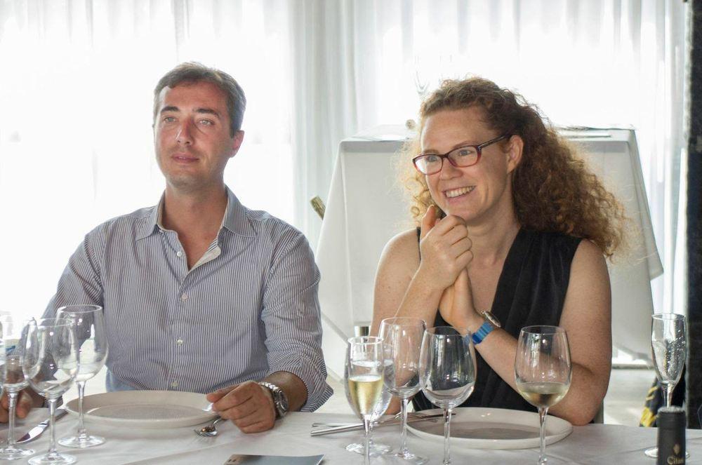 Francesco Mascini e Francesca Fiorentini