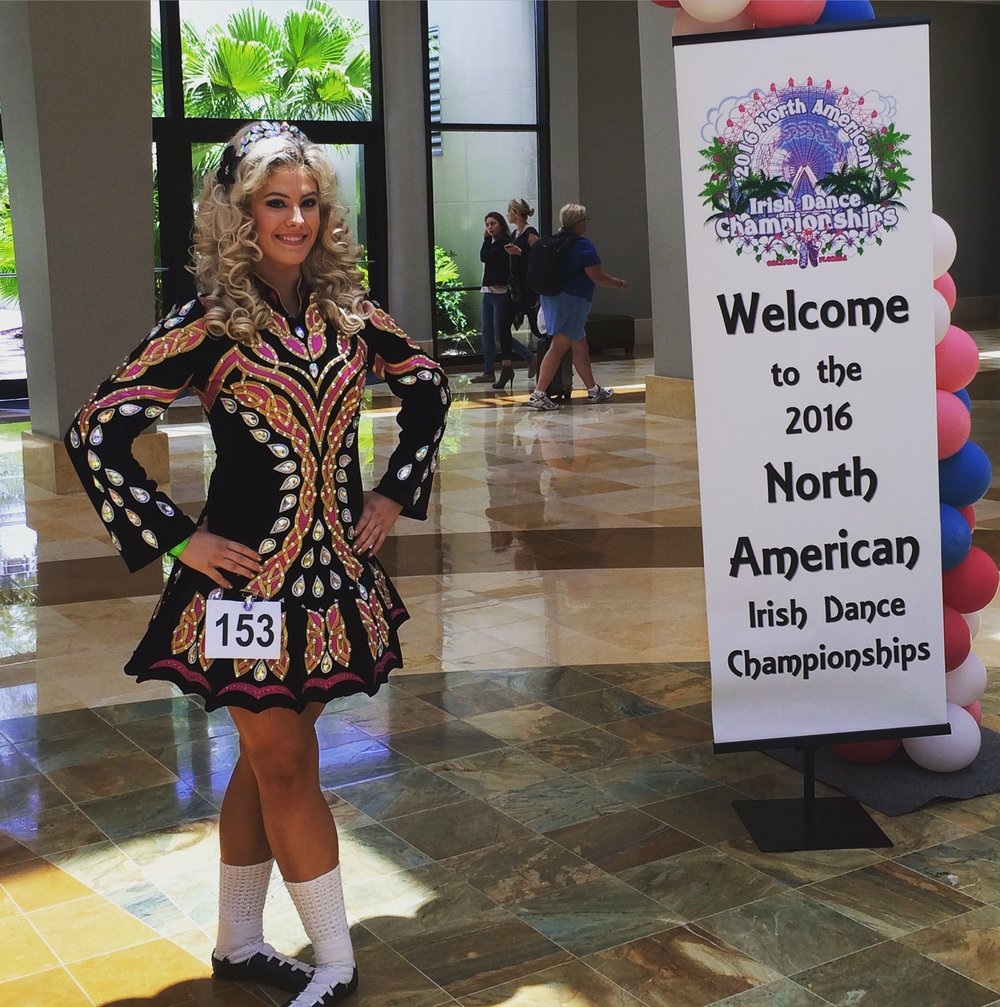 McKeever Student at the North American Championships