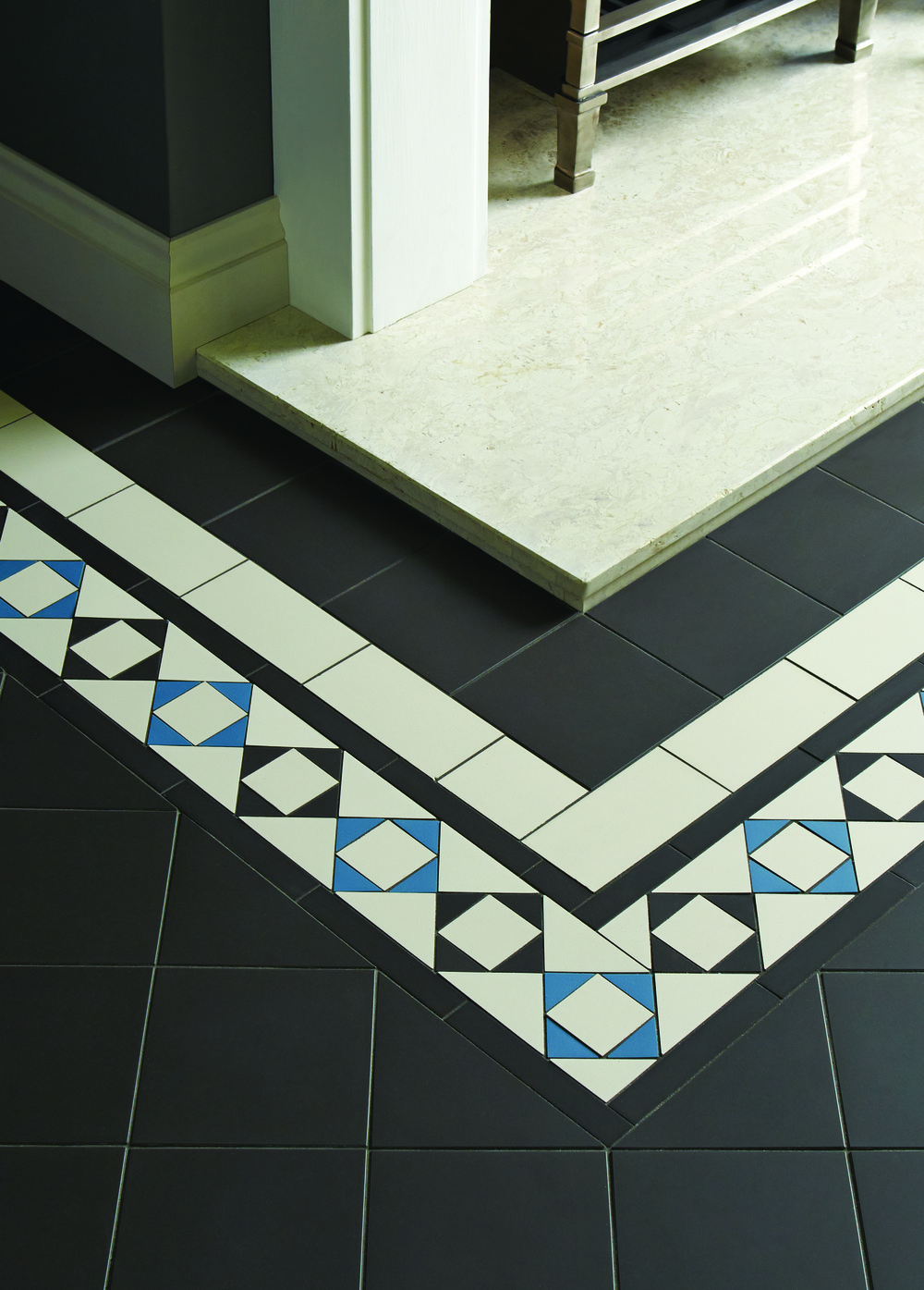 Original Style  - VFT - Browning border in Black Dover White and Pugin Blue with Black.jpg