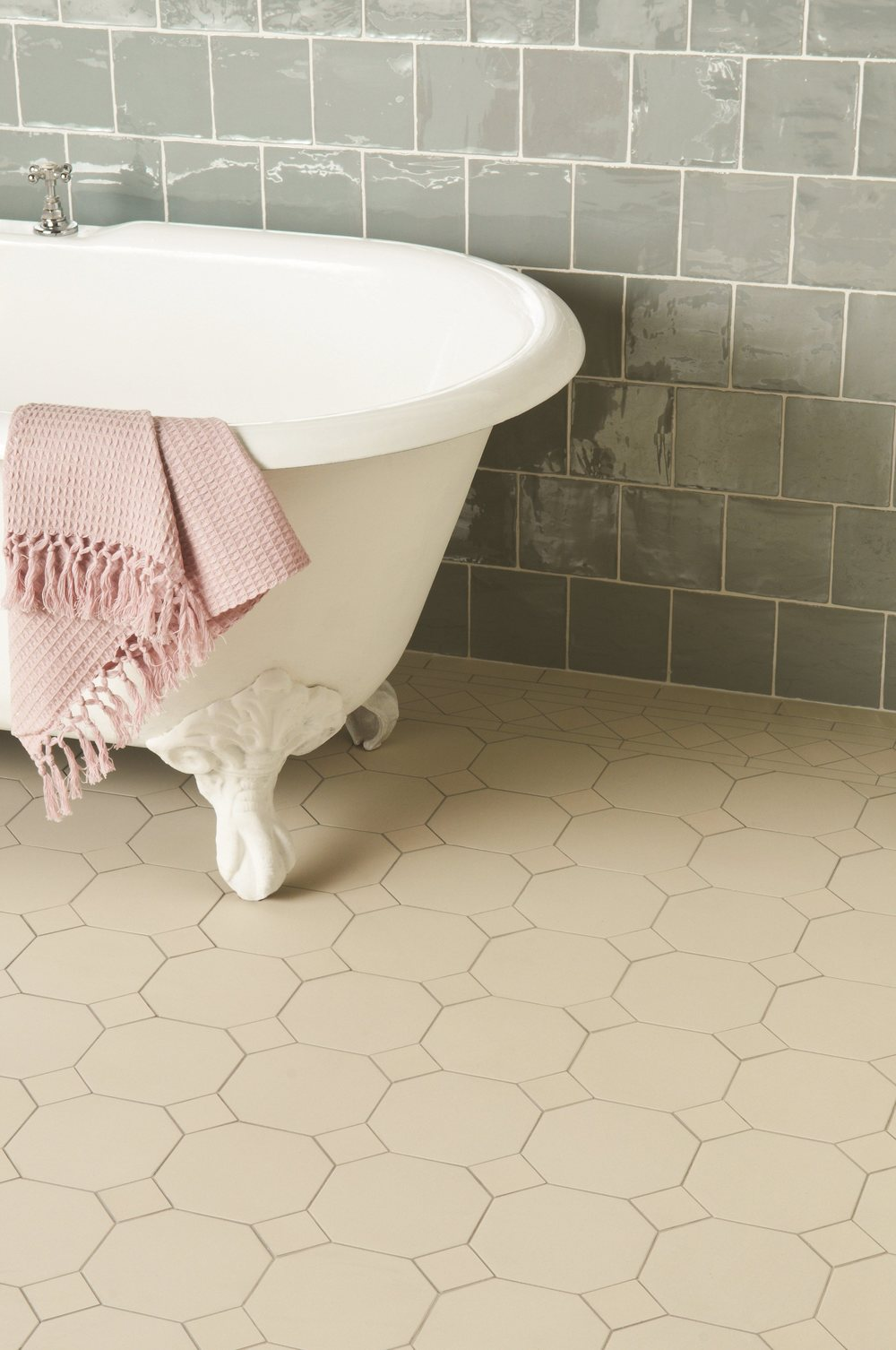 Original Style - VFT - Dover White York pattern with Winchester Metropolitan Lazul wall tiles.jpg