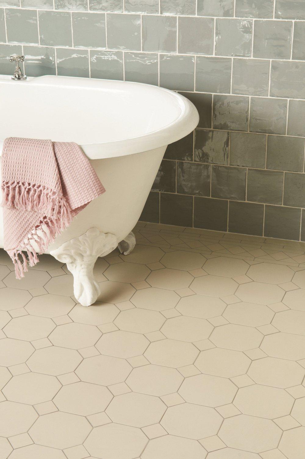 Original Style - VFT - Dover White York pattern with Winchester Metropolitan Lazul wall tiles.jpg